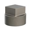 钢铁管螺纹管堵、内外螺丝和锁紧螺母 —— 方头管堵